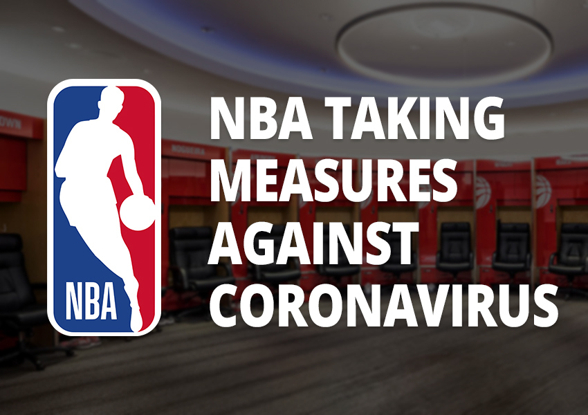 NBA Among Sports Leagues Taking Measures Against Coronavirus