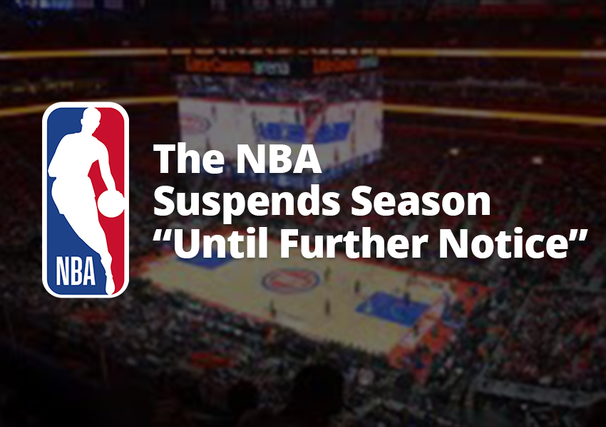 "The NBA Suspends Season ""Until Further Notice"" Following Positive COVID-19 Test in Jazz Player"