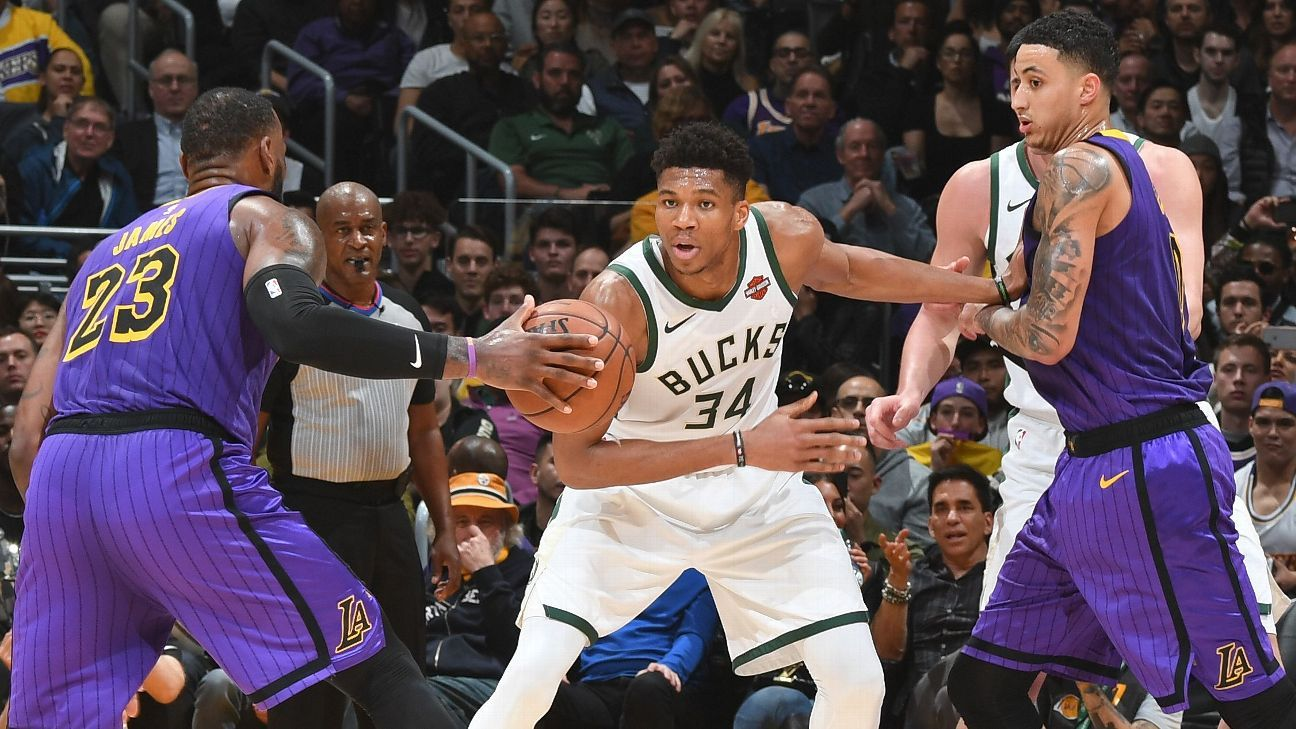 Giannis and LeBron Both Ruled Out of Tuesday's Game Due to Injuries