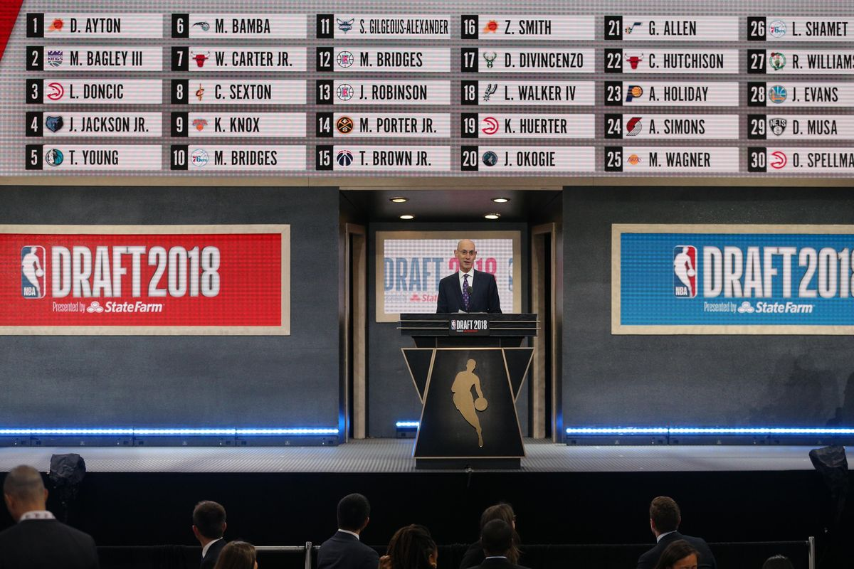 An Issue With The NBA Draft