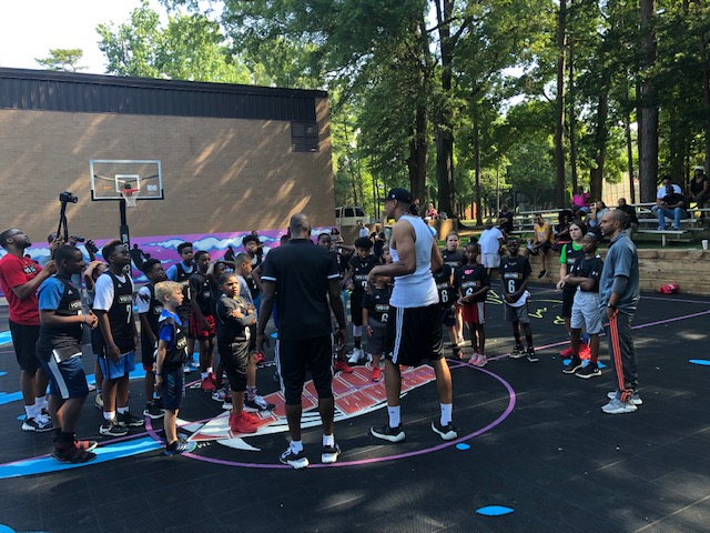 Young3 and BIG3 Give Back To The Youth On Behalf of Nancy Lieberman - Charlotte, North Carolina