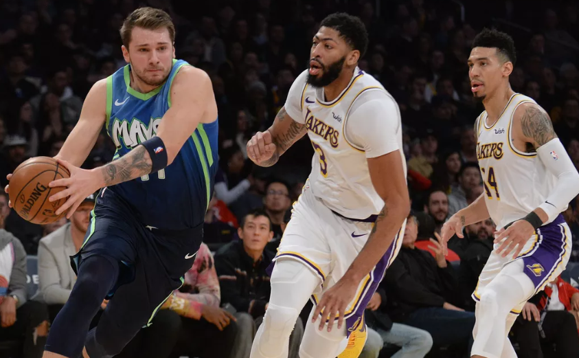 Doncic Celebrates Special Night As Mavericks Beat Lakers 114-100