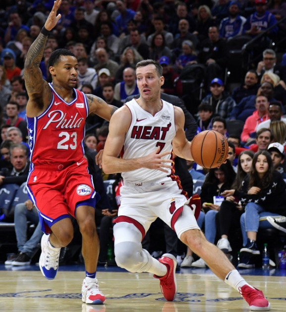 Heat Bring Down 76ers With 108-104 Win