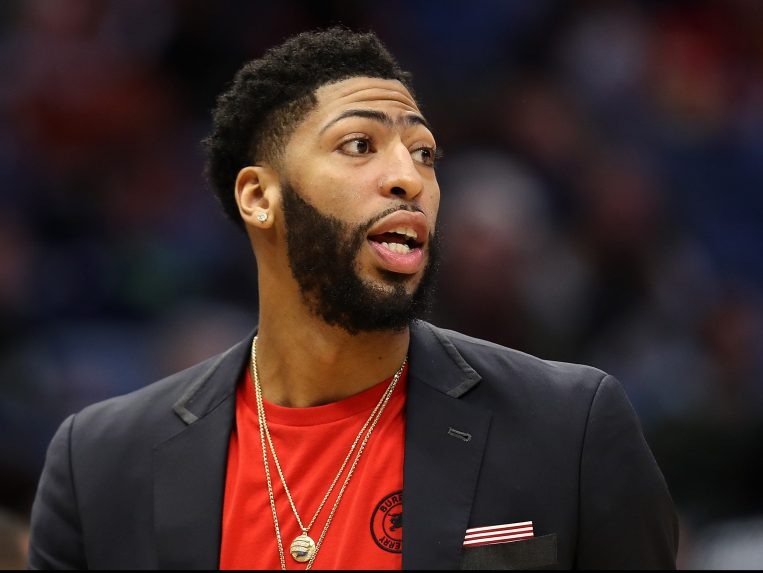 Anthony Davis Fined $50,000 for Trade Demand