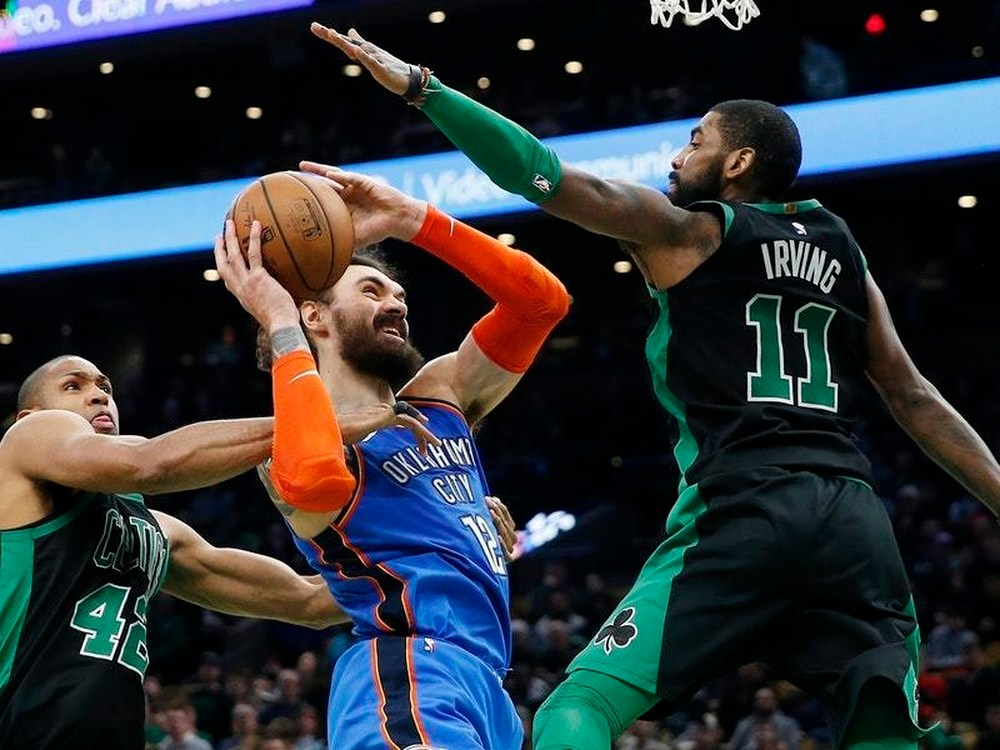 This Super Bowl Sunday at TD Garden, the Boston Celtics put an end to the Oklahoma City Thunder's impressive seven-game winning streak.
