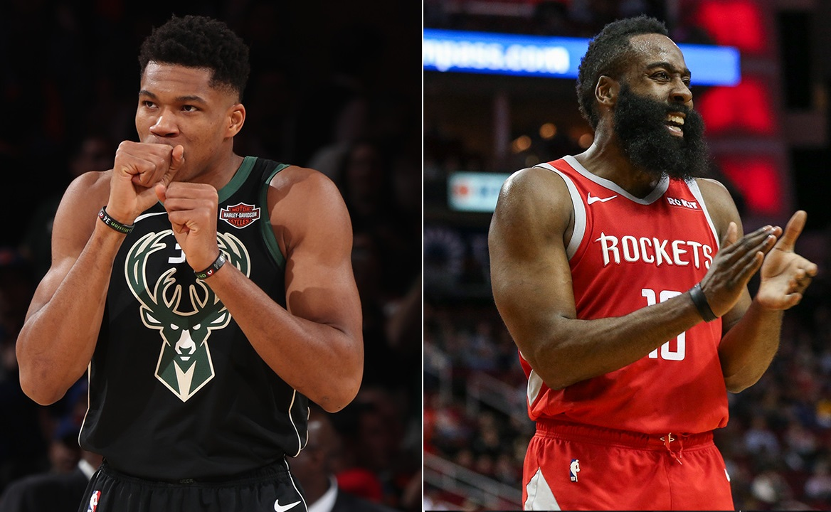 Giannis or Harden? Who's going to be this year's MVP.