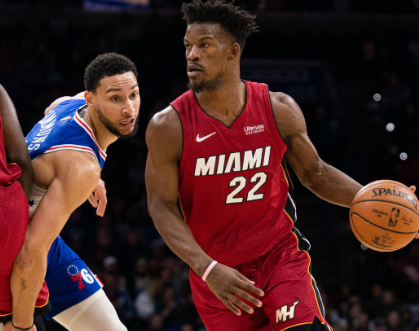 Heat's Butler Scores Season-High 38 In 137-106 Win Against the 76ers